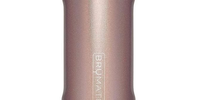 Brumate Hopsulator Slim Glitter Rose Gold 12-oz