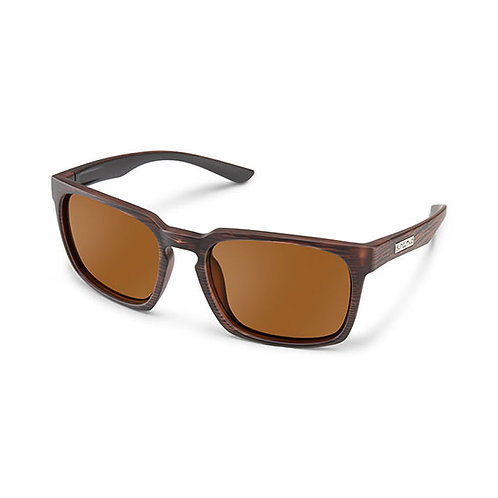 SunCloud Optics Hundo Burnished Brown Sunglasses