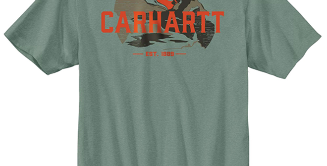 Carhartt Men's Relaxed Fit Short Sleeve Graphic T-Shirt