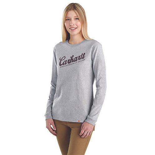 Carhartt Women's Heavyweight Long-Sleeve Graphic T-Shirt