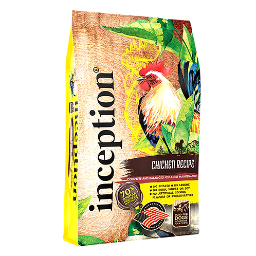 Inception Chicken Recipe for Dogs - 4 lb. bag