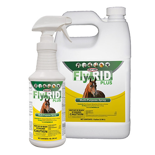 Durvet FlyRID Plus Multipurpose Spray - 1 Gallon