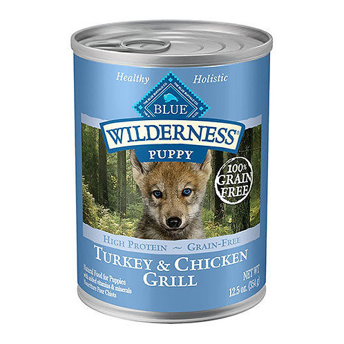 Blue Buffalo Wilderness - Puppy Turkey and Chicken Grill