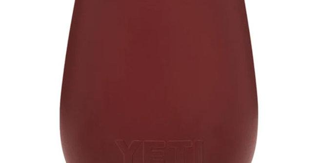 Yeti Rambler 10 oz Wine Tumbler - Brick Red