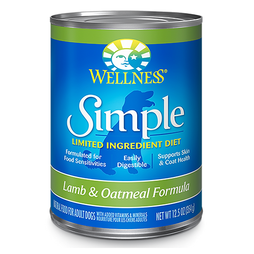 Wellness Simple Limited Ingredient - Lamb and Oatmeal