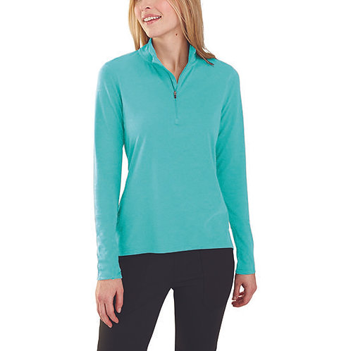 Carhartt Force Women's Delmont Quarter-Zip Shirt