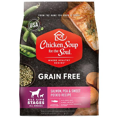Chicken Soup Grain Free Salmon, Pea and Sweet Potato - 10 lb. bag