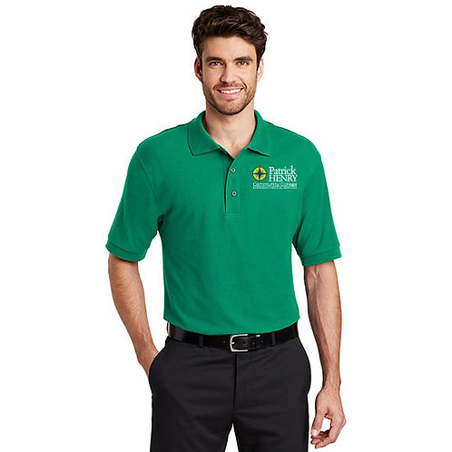 Port Authority Silk Touch Polo Kelly Green