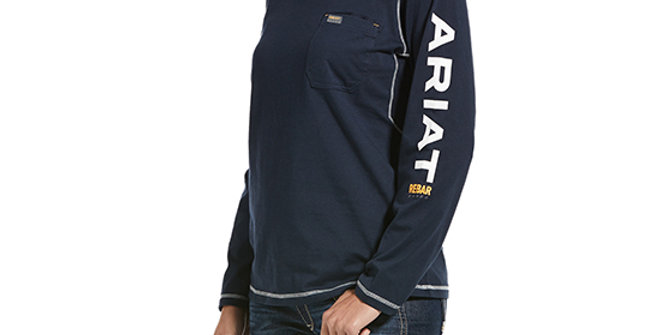 Ariat Rebar Women's Workman Logo T-Shirt