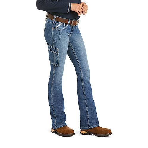 Ariat Rebar Women's DuraStretch Raven Boot Cut Jean