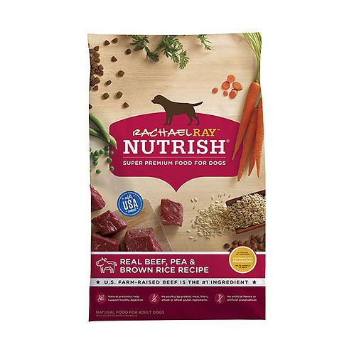 Rachael Ray Nutrish Real Beef, Pea and Brown Rice - 28 lb. bag