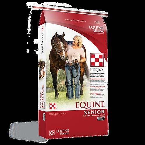 Purina Equine Senior Horse Feed - 50 lb. bag