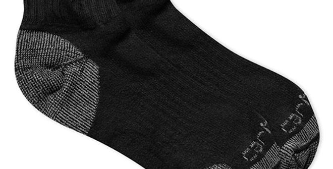 Carhartt Men's Cotton Low Cut Work Sock 3 Pack