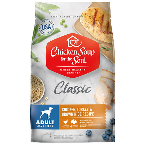 Chicken Soup Adult Chicken, Turkey & Brown Rice - 4.5 lb. bag