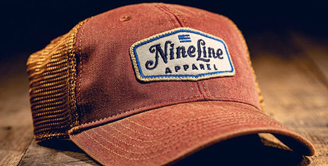 Nine Line Classic Trucker Hat with Patch