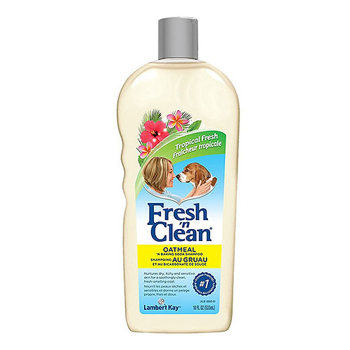 Fresh 'n Clean Oatmeal and Baking Soda Shampoo