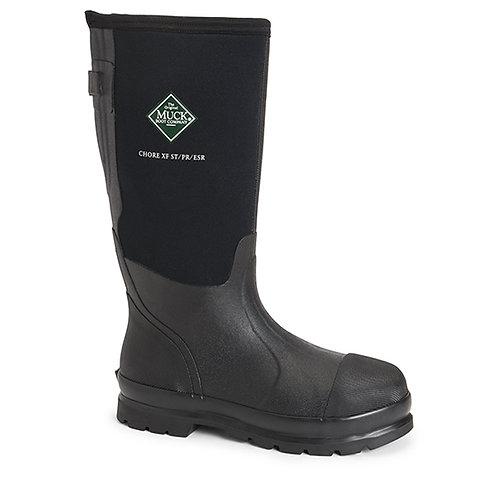Muck Boot Men's Chore Classic Steel Toe Wide Calf
