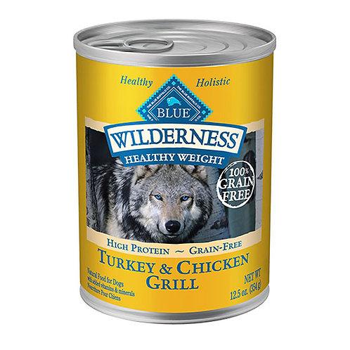 Blue Buffalo Wilderness - Healthy Weight Turkey and Chicken Grill