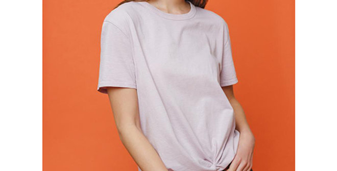 Ivory Ella Apple Twist Tee