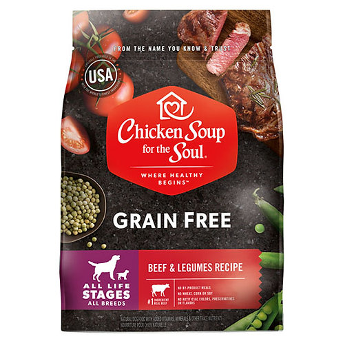 Chicken Soup Grain Free Beef and Legumes - 25 lb. bag