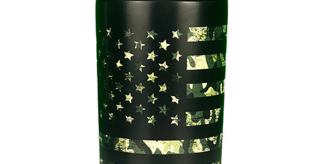 Frost Buddy Universal 2.0 Can Cooler - Camo Flag