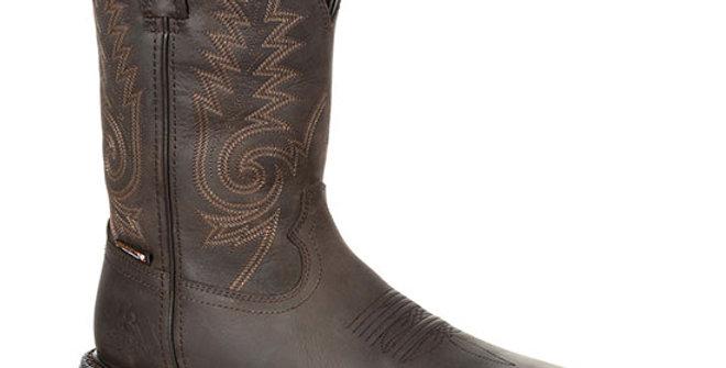 Rocky Men's Original Ride FLX Steel Toe Western Boot