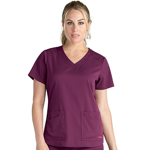 Grey's Anatomy Spandex-Stretch Emma Top