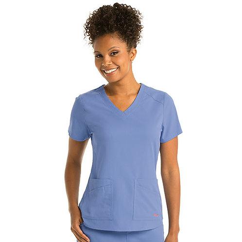 Grey's Anatomy Spandex-Stretch Emma Top