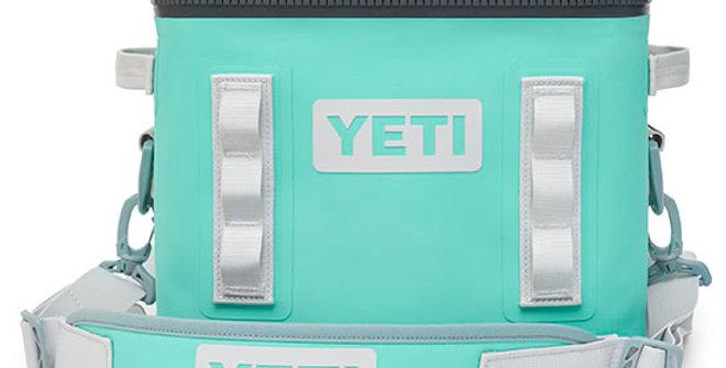Yeti Hopper Flip 12 Soft Cooler - Aquifer Blue