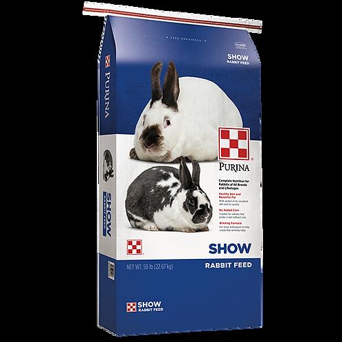 Purina Rabbit Show Feed - 50 lb. bag