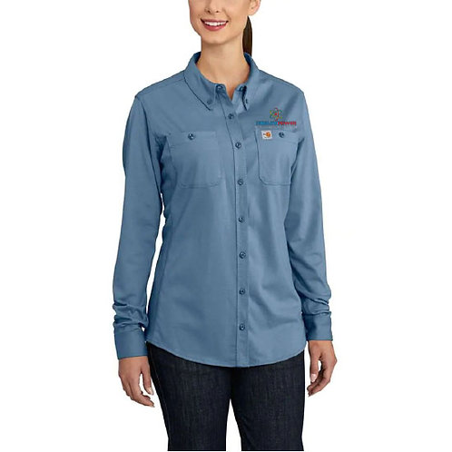 Carhartt Women's Flame-Resistant Force Cotton Hybrid Shirt CP