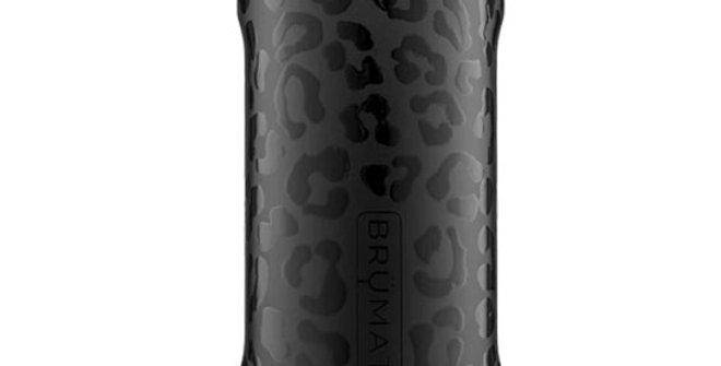 Brumate Hopsulator Slim Onyx Leopard 12-oz