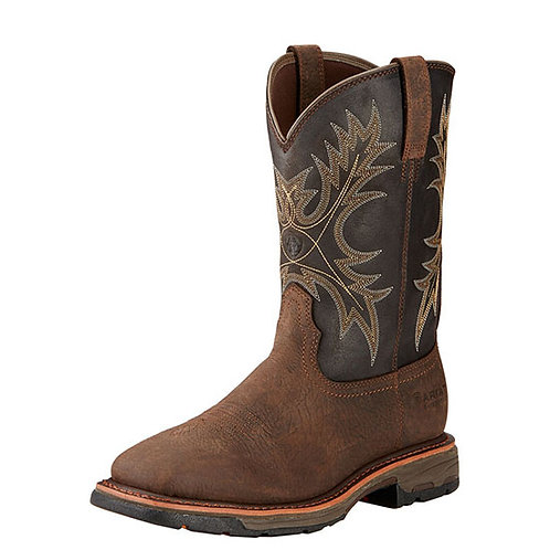 Ariat Men's WorkHog Waterproof Work Boot