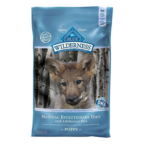 Blue Buffalo Wilderness Chicken Recipe Puppy Formula - 24 lb. bag