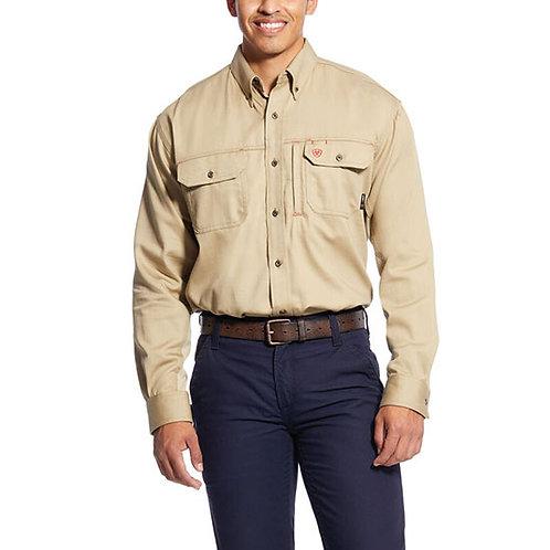 CVEC Ariat FR Solid Vent Work Shirt