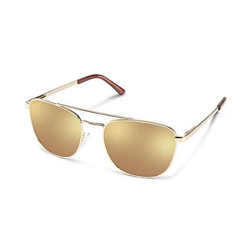 SunCloud Optics Gold Fairlane Sunglasses
