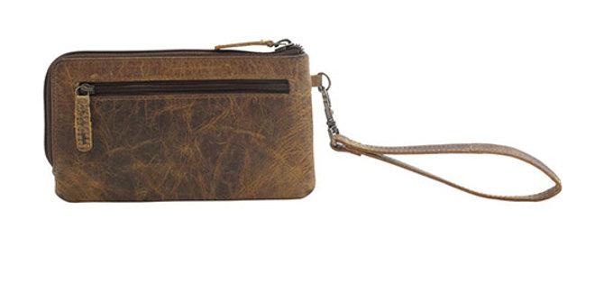 Myra Bag Super Tan Leather Wallet