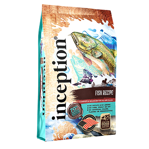 Inception Fish Recipe for Dogs - 27 lb. bag