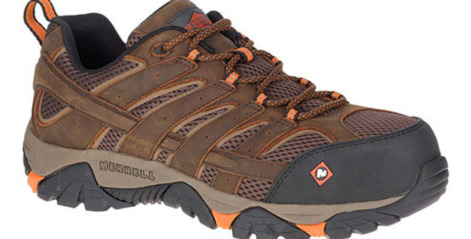 Merrell Men's Moab Vertex Vent Work Shoe