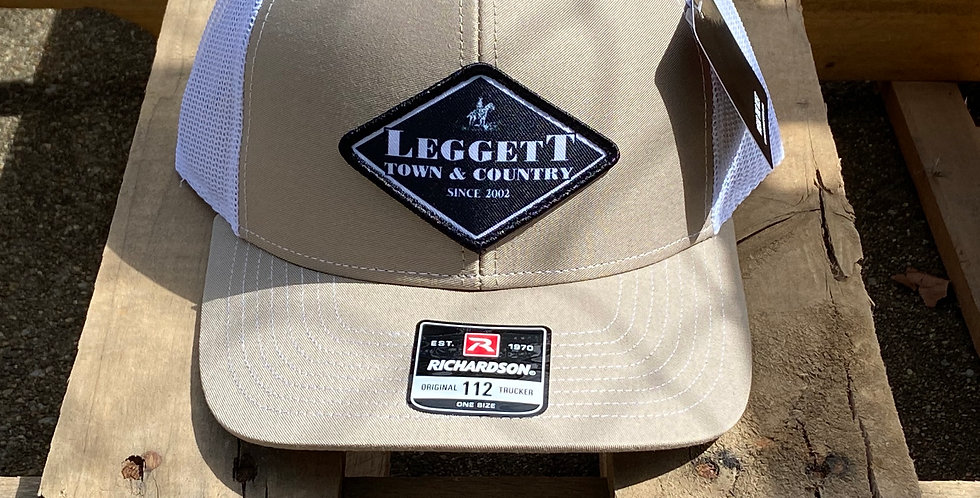 Richardson 112 Leggett Town and Country Diamond Cap - Khaki
