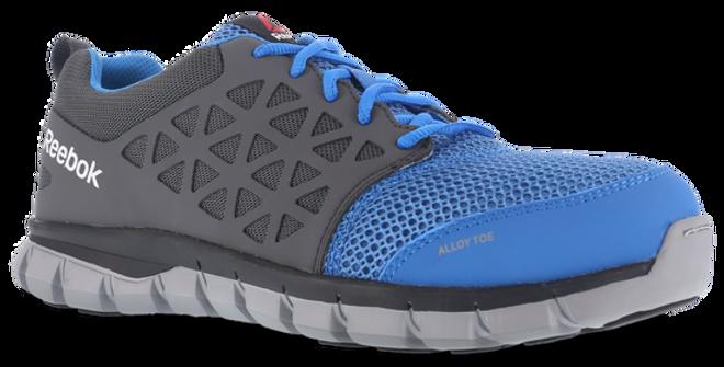 Reebok Women's Sublite Cushion Blue Work Shoe