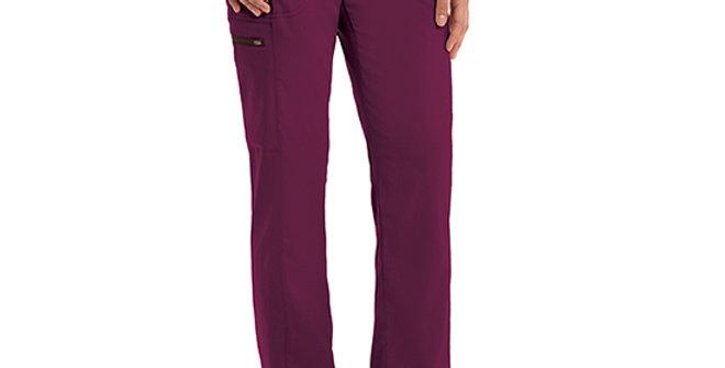 Grey's Anatomy Women's 3 Pocket Elastic Waistband Cargo Pant