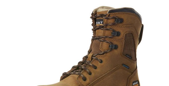 Men's Ariat Turbo Waterproof Carbon Toe Work Boot