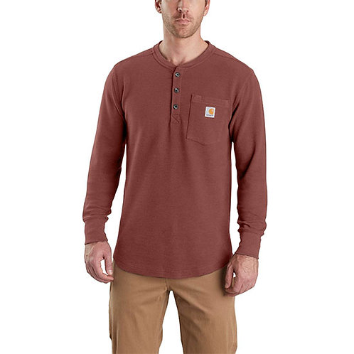 Carhartt Men's Tilden Long-Sleeve Waffle Knit Henley