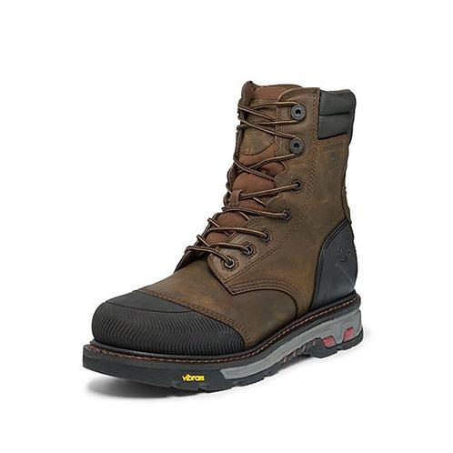 Justin Men's Warhawk Tan Waterproof Boot