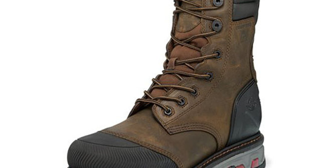 Justin Men's Warhawk Tan Waterproof Boot