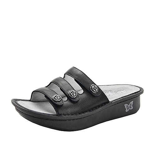 Alegria Kacee Black Sandal