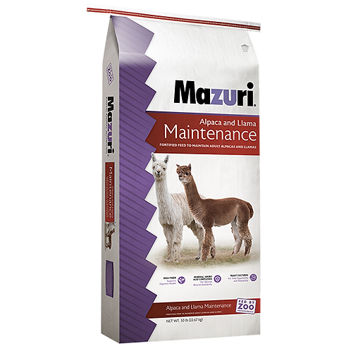 Mazuri Alpaca & Llama Maintenance Diet - 50 lb. bag