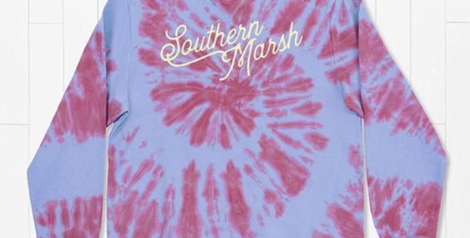 Southern Marsh Seawash Tie-Dye Sweatshirt