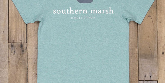 Southern Marsh Authentic Heathered Tee